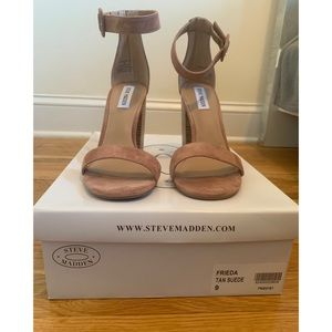 Steve Madden Frieda Tan Size 9 heels